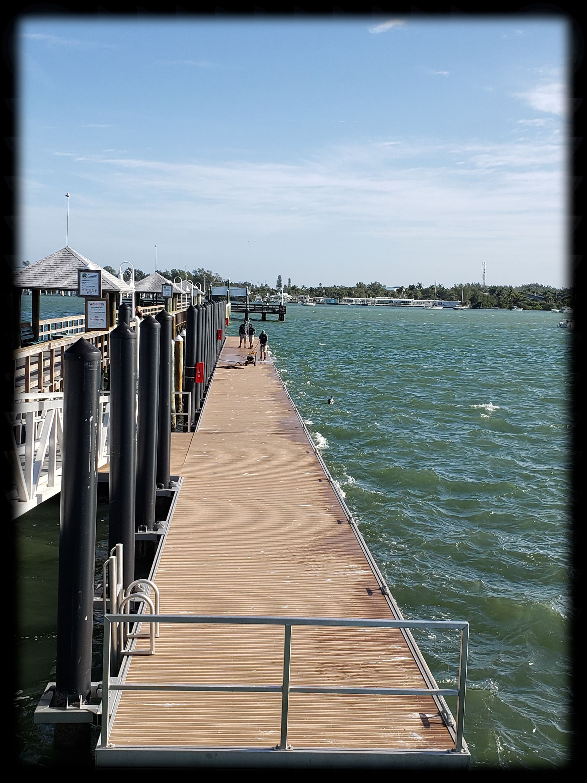Historic City of Bradenton Beach City Pier - Floating Dock